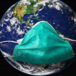 Земля в маске