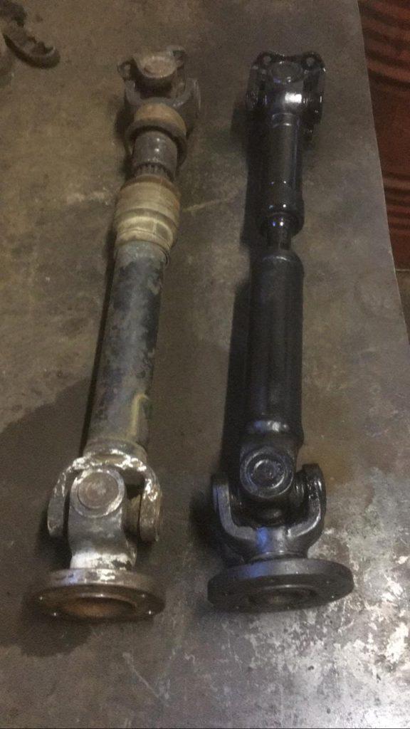 Изготовление карданного вала